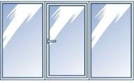 трехсекционное окно